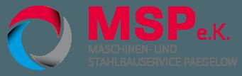 MSP – Maschinen- und Stahlbauservice Paegelow